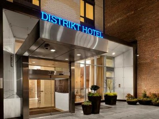 front of hotel from 40th street picture of distrikt hotel new york rh tripadvisor com