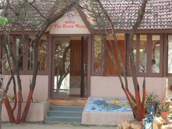 The Beach at Mandavi Palace: Reception Hut