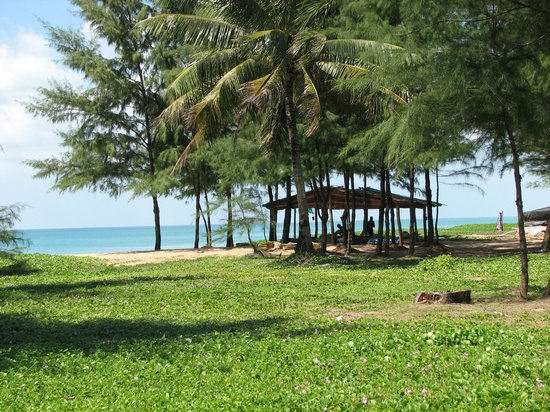 Grand West Sands Resort & Villas Phuket : Тайский массаж на пляже 500бат