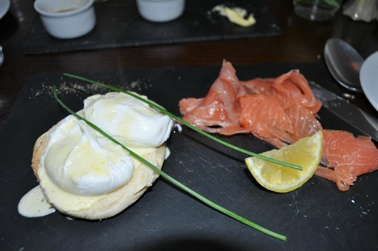 Ariel House : Smoked salmon from breakfast was great