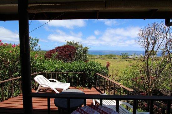 Cabanas Mana Ora: The Balcony