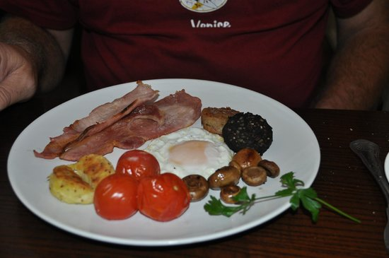 Ariel House : Irish Breakfast