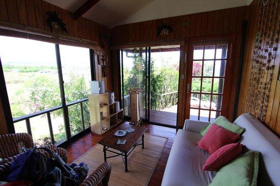 Cabanas Mana Ora: The sitting room