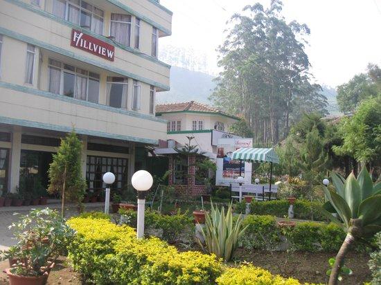 Hillview Munnar : hotel front
