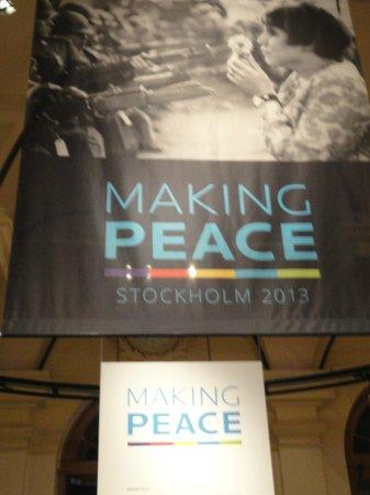 The Nobel Museum : Making Peace