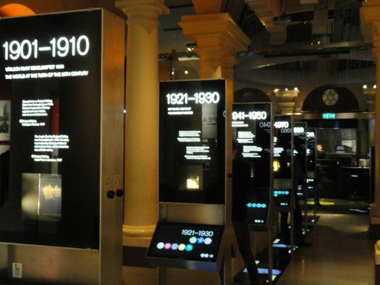 The Nobel Museum: Display of the greatest inventions for mankind