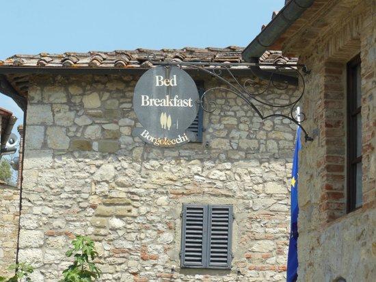 Borgo Lecchi B&B: Al Fresco view