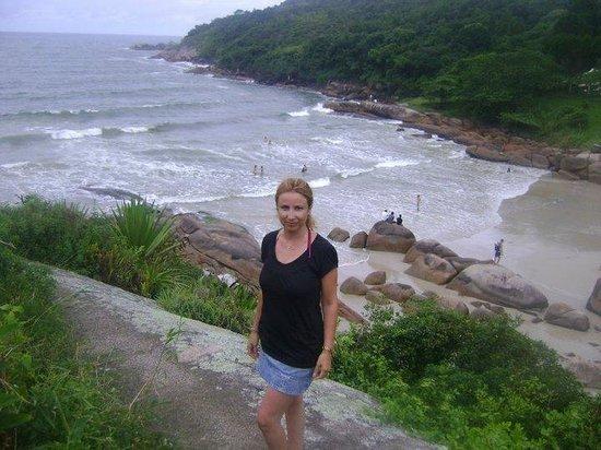 Barra da Lagoa Beach: en el morro