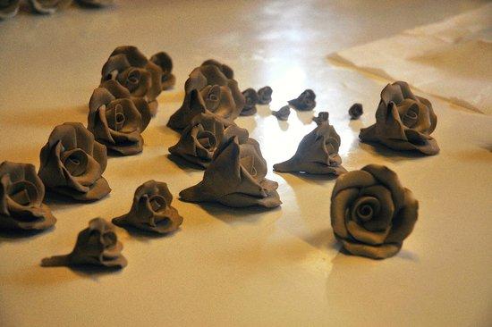Herend Porcelanium: Zarte Röschen