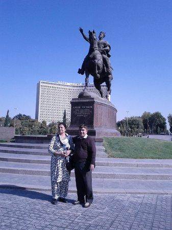 Amir Timur Museum : Grace- Amir Temur Square- Tashkent