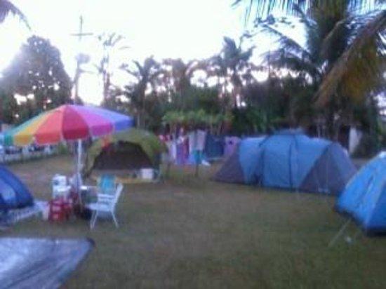 Pousada e Camping Marymar: vista do camping Marymar, amizades novas