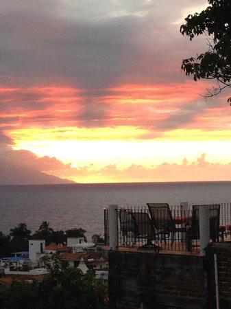 Hacienda San Angel : Sunset at HSA