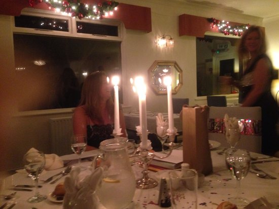 Hotel California: Lovely candlelit dinner