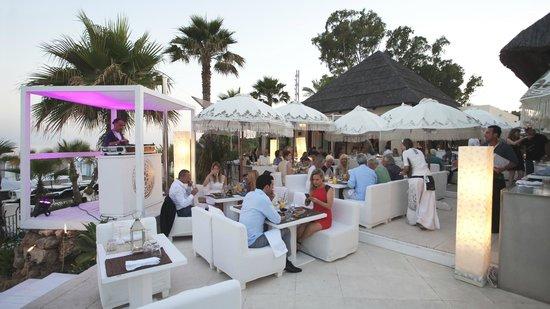 Terraza Restaurante De Purobeach Marbella