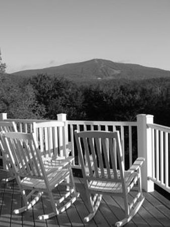 Bromley Mountain Resort from the Bromley View Inn