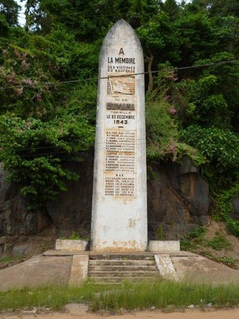 Monument to MV Dumana Crew killed in Action