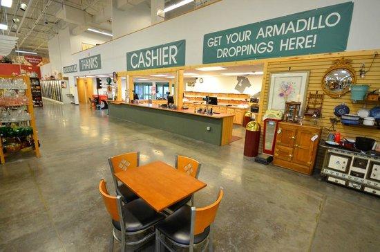 Brass Armadillo Antique Mall - Phoenix West: Customer Service - Checkout