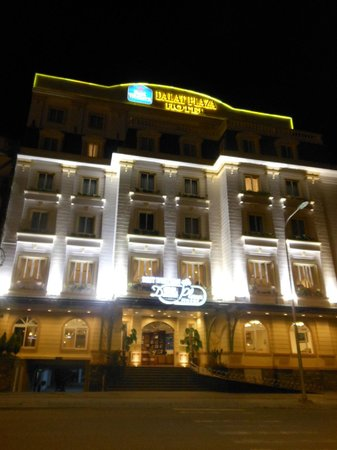 Dalat Plaza Hotel: Nice structure, french inpired building