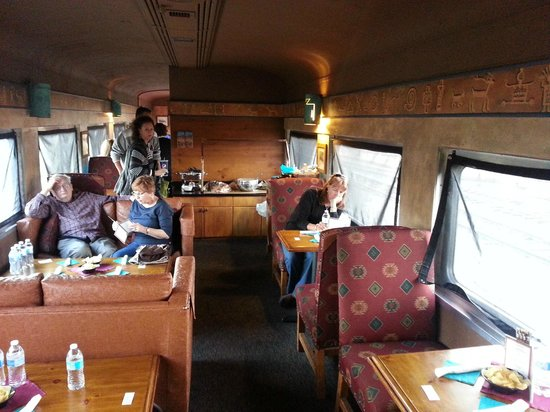 Verde Canyon Railroad: our 1st class car