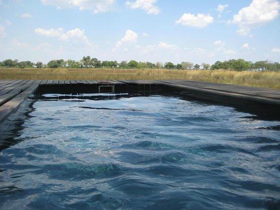 andBeyond Xaranna Okavango Delta Camp: Private plunge pool