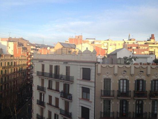 Hotel Aranea : Вид из окна