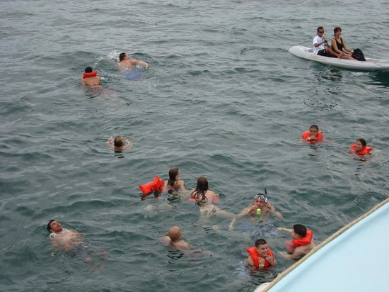 Guanacaste Ocean Tours : security gear...for all.