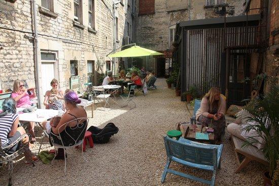 The Canteen: Guests enjoying the sunshine