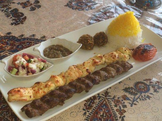 Shiraz Cafe & Restaurant: George Kebob