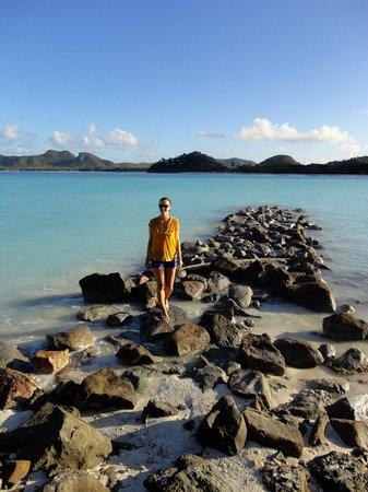 Cocobay Resort: On the rocks