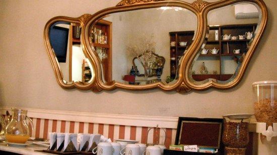 Le Vitral Baires boutique hotel: Detalhe Salão de Café
