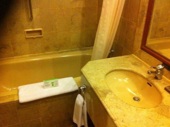 Prime Plaza Hotel Jogjakarta: Bañera