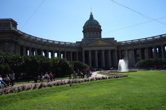 Avenida Nevski: Catedral Nuestra Señora de Kazán