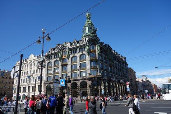 Avenida Nevski: Ex Casa Singer - Librería mas importante de S.P.