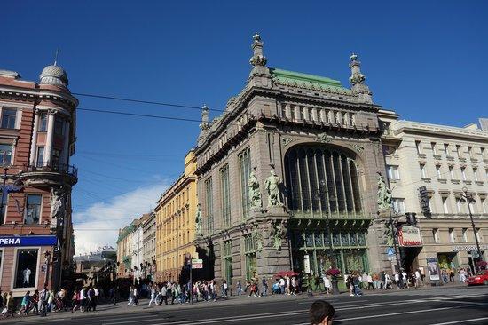 Avenida Nevski: Almacenes Yeliseev - Alimentos