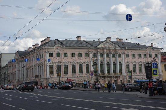 Avenida Nevski: Palacio Strogonof ( monopolio de la sal en rusia)