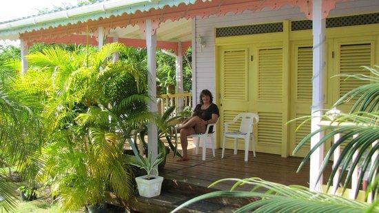 Villa Caribbean Dream: Terrasse Creol-Haus