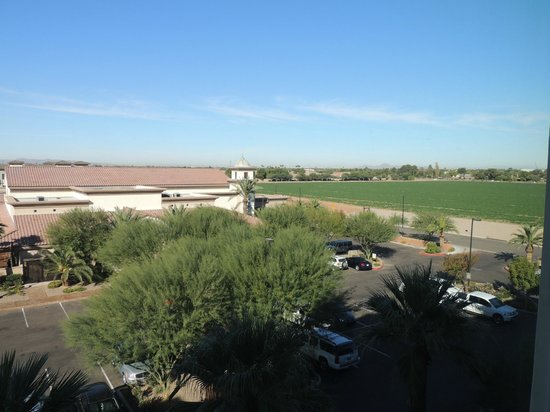 DoubleTree by Hilton Hotel Phoenix - Gilbert: View from rooms facing conference center