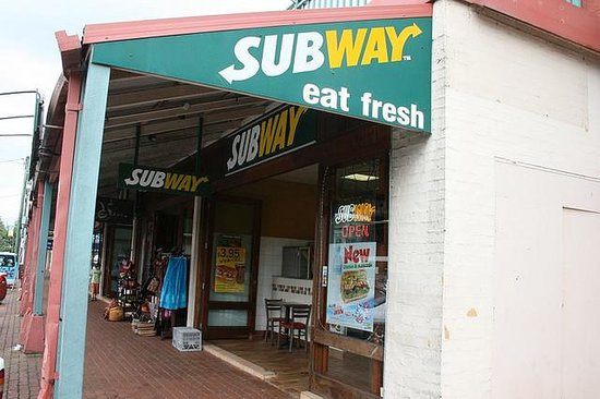 Subway Byron Bay