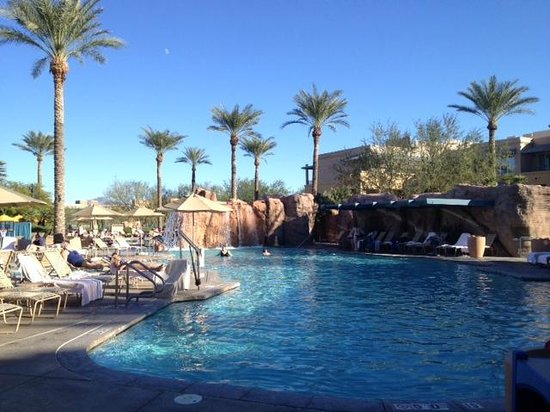 Marriott's Canyon Villas: The large pool area