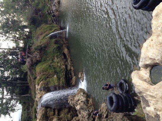Gunung Kidul, Indonesia: the next trip after Goa Pindul is river tubing at Oya River