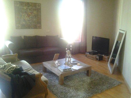 BCN Rambla Catalunya Apartments : soggiorno