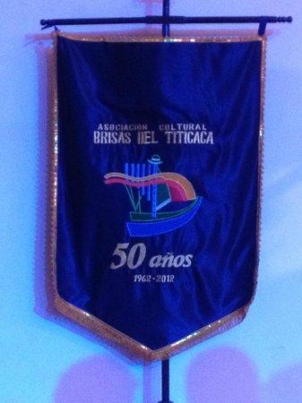 Brisas del Titicaca: Flamula da Associação