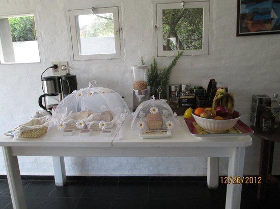 Casa Sul Mare Bed & Breakfast : desayuno buffet   todo casero