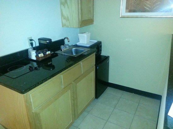 Quality Inn DFW-Airport: Kitchenette