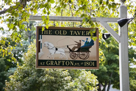 The historic Grafton Inn, home of The Old Tavern Restaurant