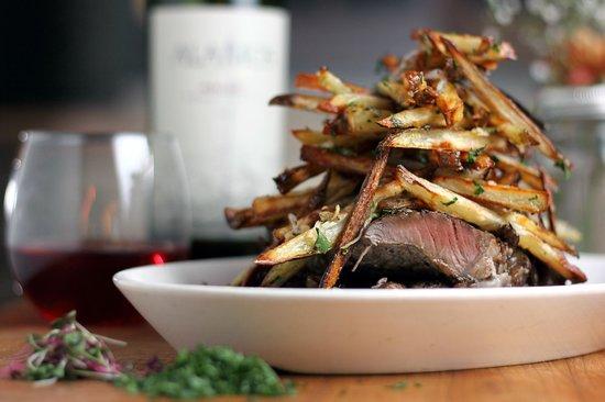 Six50 Black Oven Cooking : Steak & Frites