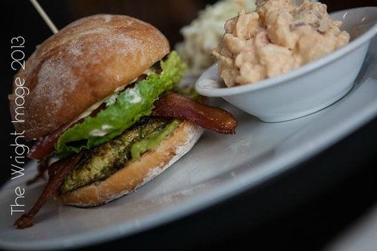 Q BBQ Public House : Tequilla & Lime Chicken Club