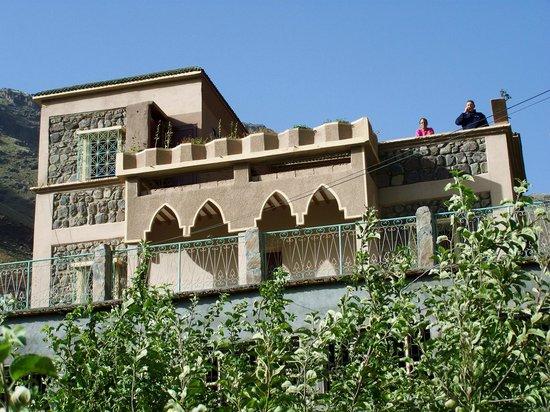 Maison D'hotes Dar Ait Souka: la maison vue du verger