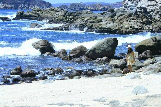Villas Fa-Sol: la playa del hotel