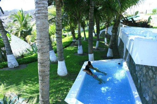 Villas Fa-Sol: una piscina de las villas